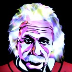 Jason D. Page Light Painting Albert Einstein 4