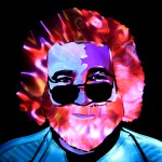 Jason D. Page Light Painting Jerry Garcia 1