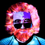 Jason D. Page Light Painting Jerry Garcia 2