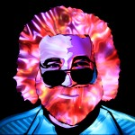 Jason D. Page Light Painting Jerry Garcia 3