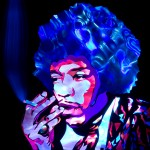 Jason D. Page Light Painting Jimi Hendrix 2