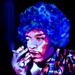 Jason D. Page Light Painting Jimi Hendrix 3