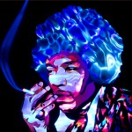 Jason D. Page Light Painting Jimi Hendrix 4