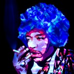 Jason D. Page Light Painting Jimi Hendrix 5