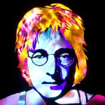 Jason D. Page Light Painting John Lennon 1