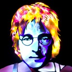 Jason D. Page Light Painting John Lennon 2