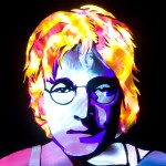 Jason D. Page Light Painting John Lennon 3