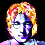 Jason D. Page Light Painting John Lennon 4