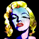 Jason D. Page Light Painting Marilyn Monroe 1