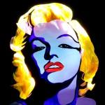 Jason D. Page Light Painting Marilyn Monroe 4