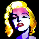 Jason D. Page Light Painting Marilyn Monroe 5