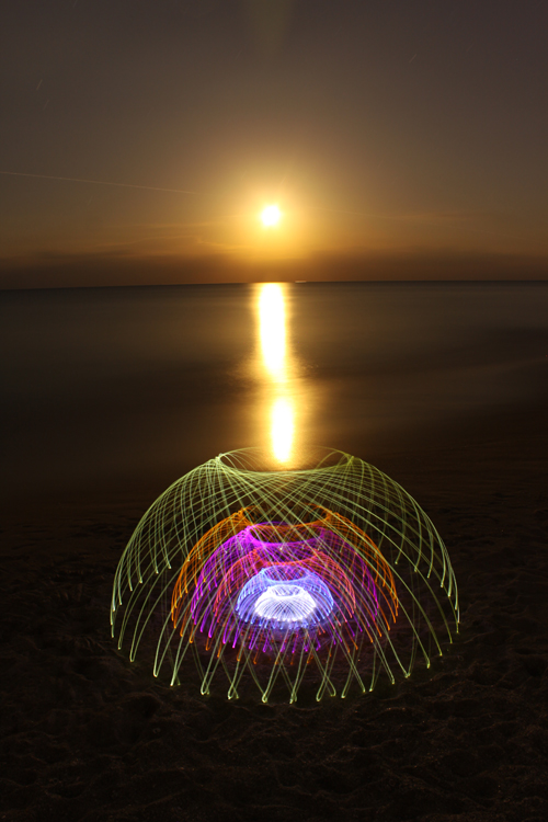 Light Painting By Jason D  Page