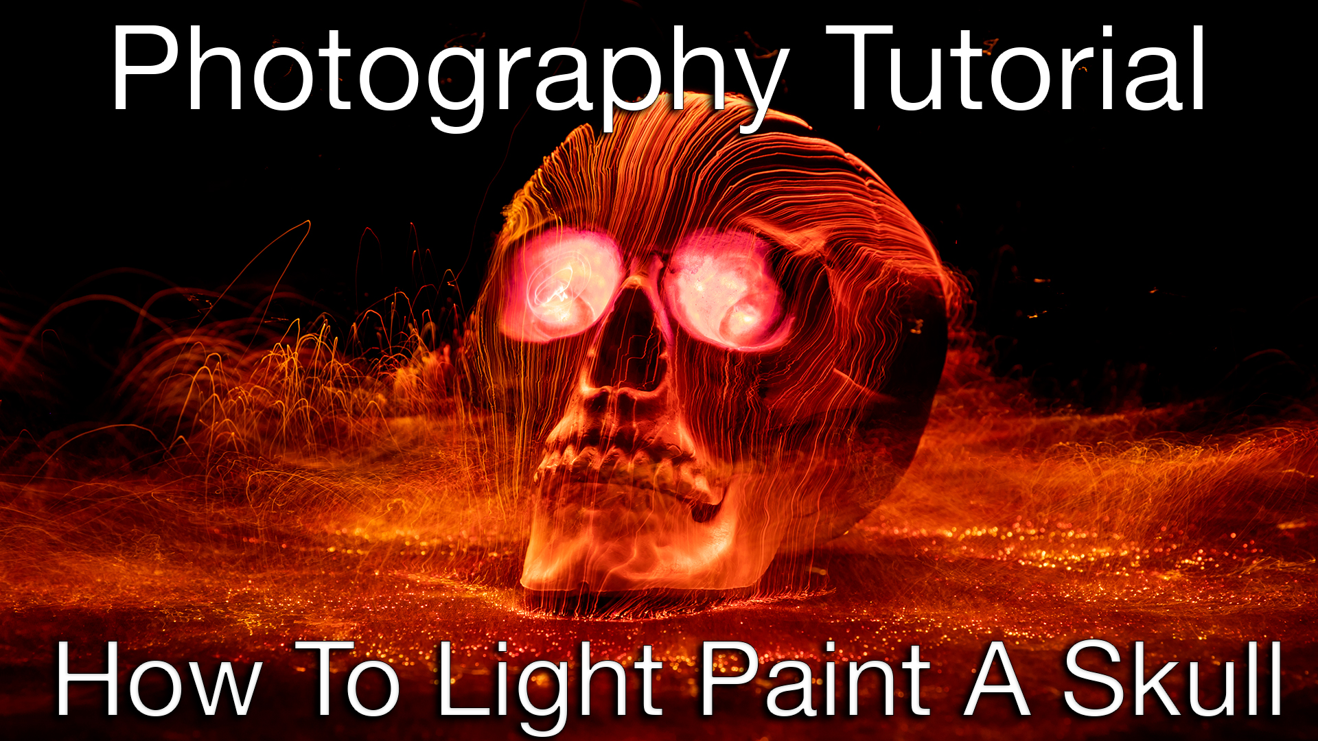 How To Light Paint A Skull Thumbnail